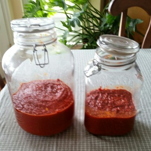 Hot Sauce Jars