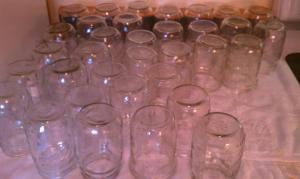 Jars Ready for Filling