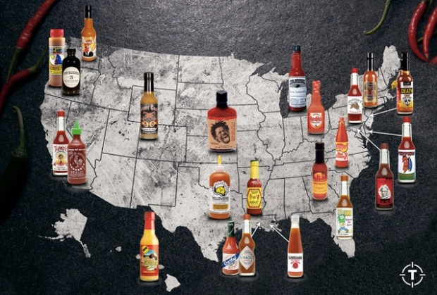 Popular American Hot Sauces