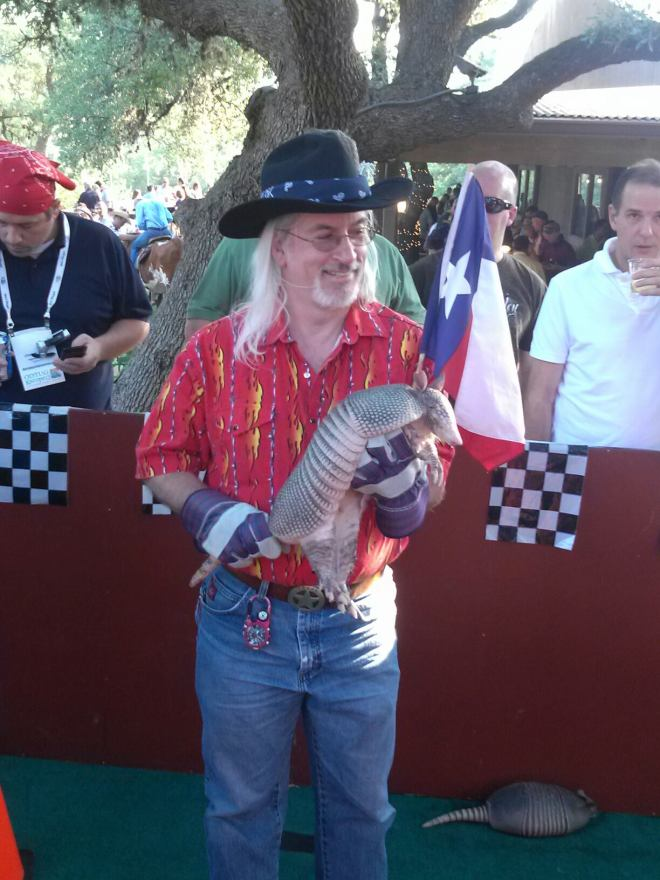 Kent and an Armadillo - KScope12