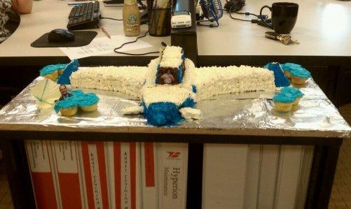 Plane Cake - 2010