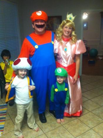 A gamer family