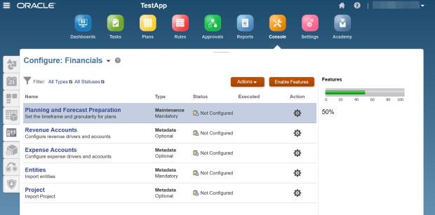 Configuring Frameworks 13
