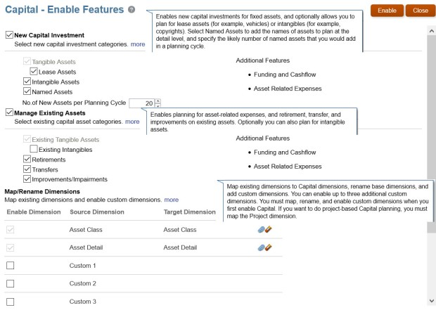 Configuring Frameworks 20