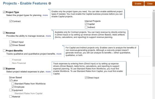 Configuring Frameworks 21