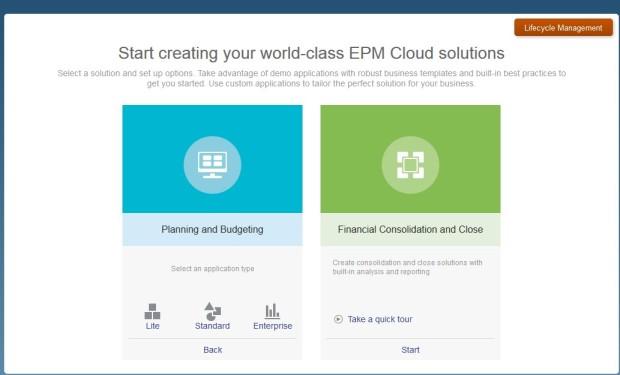 FCCS_EPBCS_startup screen