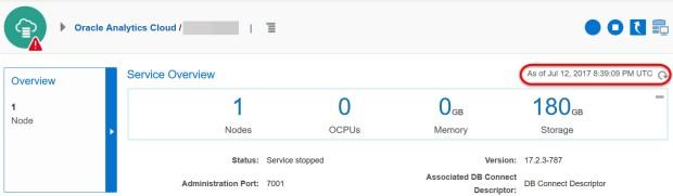 OAC Restarting Service-Dashboard Nav 04