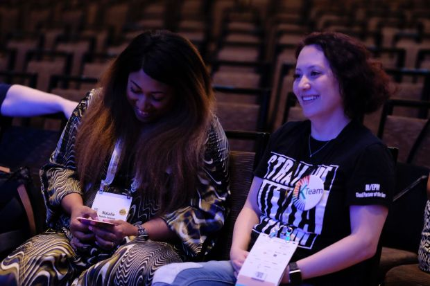 General Session Rehearsal - Natalie and Opal