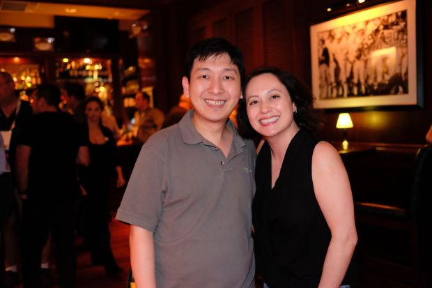 Oracle ACE Dinner-Adrian and Opal