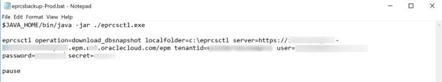 Download Snapshot Batch Script